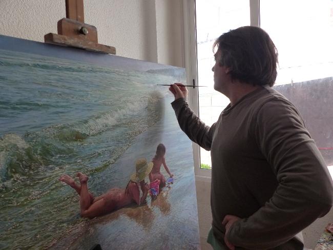 La creatividad del pintor