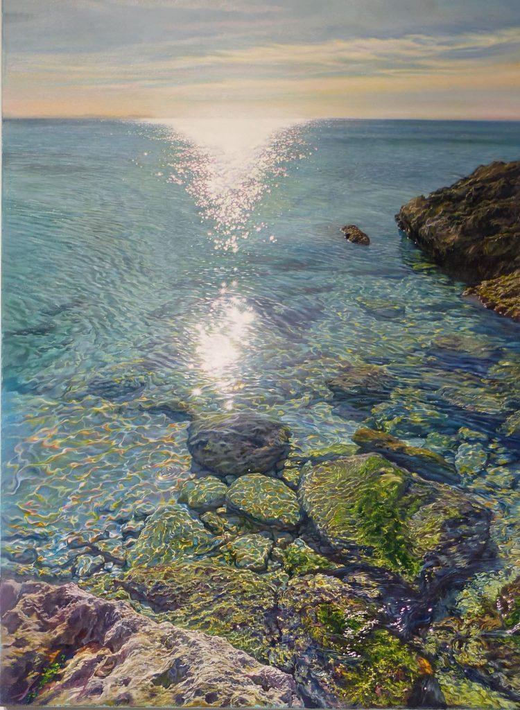 Collar de Soles 73x54cm - Óleo sobre lienzo