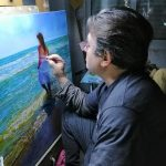 Pintor realista. Pepe Linares Molina
