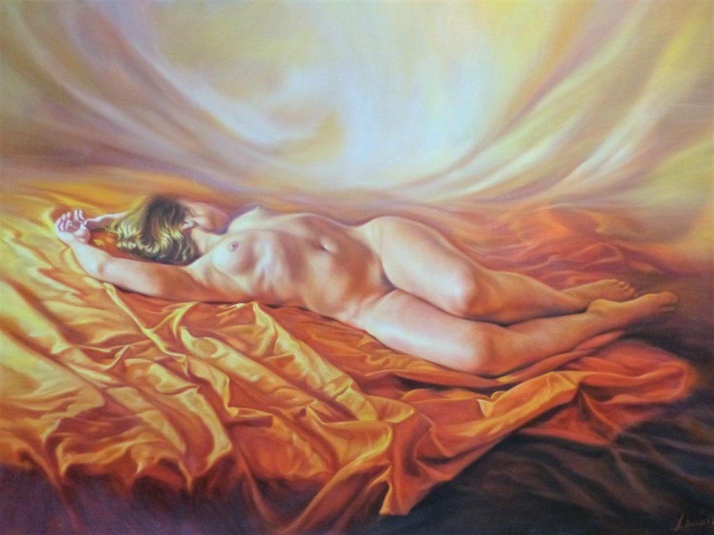 Artista pintor Pepe Linares